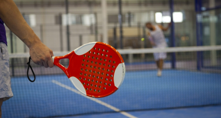 Playing Padel Tennis
